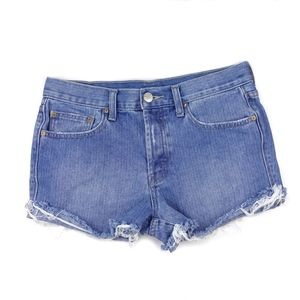 UO | BDG > High-Rise Tomgirl Button Fly Jean Short